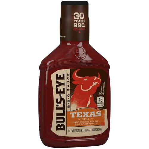 Bull's Eye BBQ Texas szósz 496g