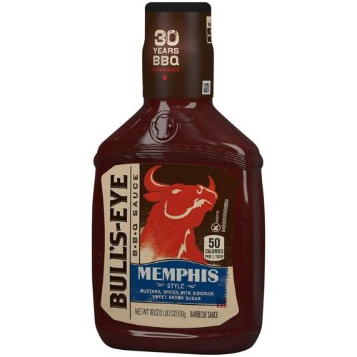 Bull's Eye Memphis BBQ szósz 510g